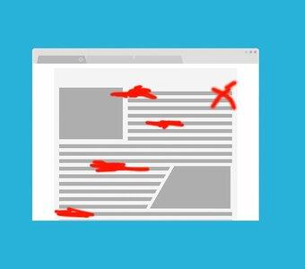 Meer overtuiging in uw blogteksten door foutwoorden weg te laten. Maar hoe?