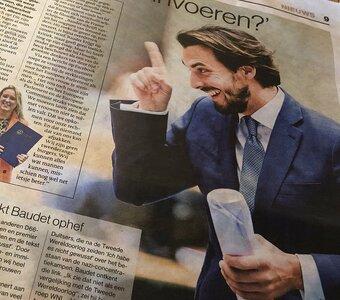 Nederlanders boos over essay Baudet.
