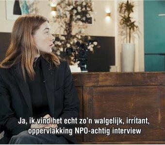 Emma Wortelboer had niet in de smiezen dat ze door Thierry Baudet werd ingezet als marketinginstrument